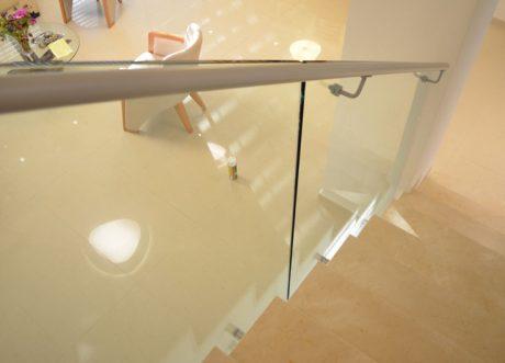 מעקה זכוכית דגם Z-1000-19, תמונה 4