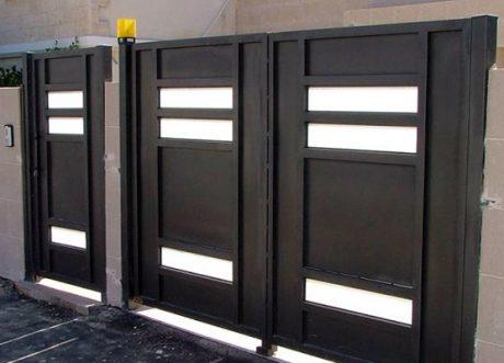 שערים אוטומטיים דגם זכוכית S-200-1, תמונה 1