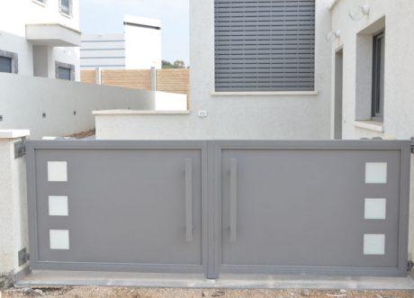 שערים אוטומטיים דגם זכוכית S-200-4, תמונה 2