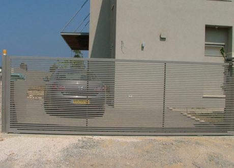 שערים אוטומטיים דגם רצועות S-400-3, תמונה 2