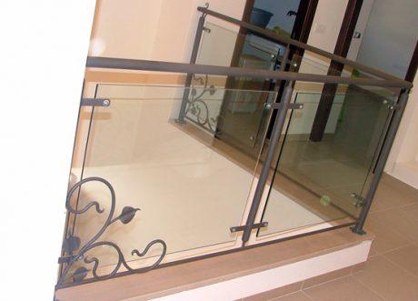 מעקה זכוכית דגם Z-1000-12, תמונה 11